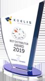 Koelis Best Distributor Award 2019