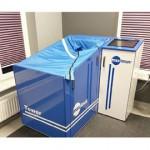 Dry CO2 baths and ozone baths TOWER MX-1