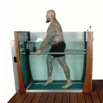 Water treadmill for rehabilitation Aquamotion