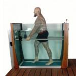 Water treadmill for rehabilitation Aquamotion