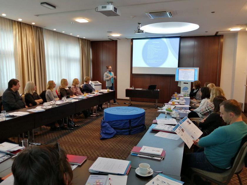 Presentation in Zagreb, Croatia
