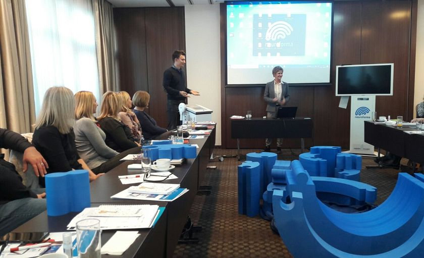 Presentation in Zagreb, Croatia